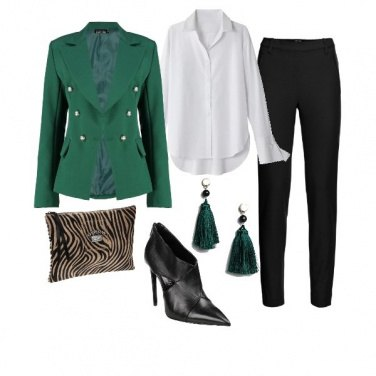 Outfit Green Military Jacket