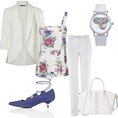 Outfit Le scarpe indaco
