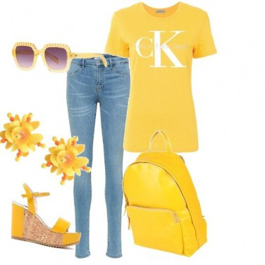 Outfit In giallo*