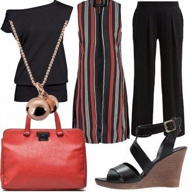Outfit Bordeaux pantone
