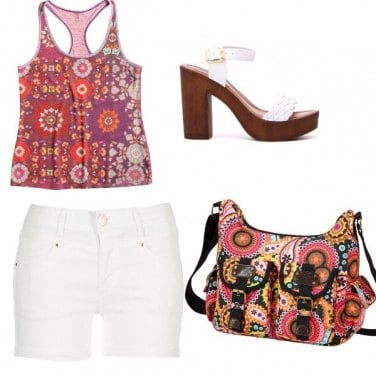Outfit Colorata e fresca!