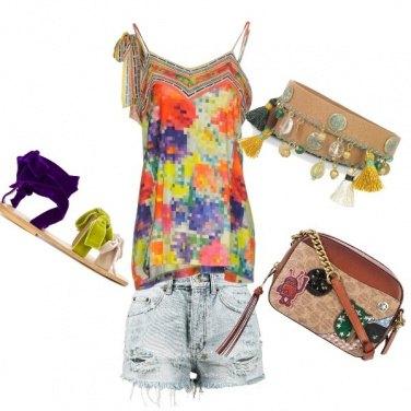 Outfit La tracolla glam