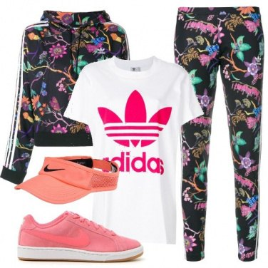 Outfit Sport e glam