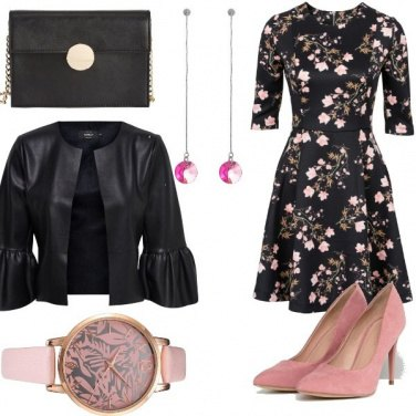 Outfit Cocktail floreale