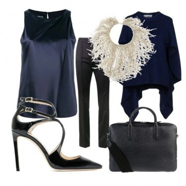 Outfit Blue office