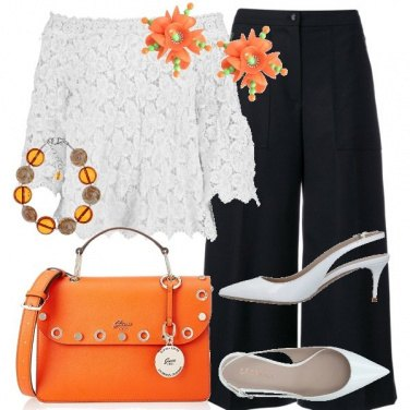 Outfit Cartella arancione