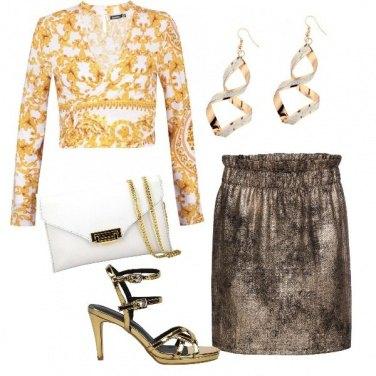 Outfit Perché tu sei..Oro!