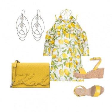 Outfit Yellow Lemon Tree