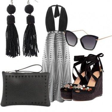 Outfit Nero d'estate