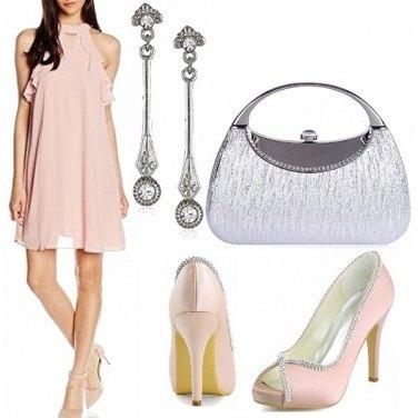 Outfit Occasione speciale in quartz e silver