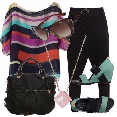 Outfit Colori e nero