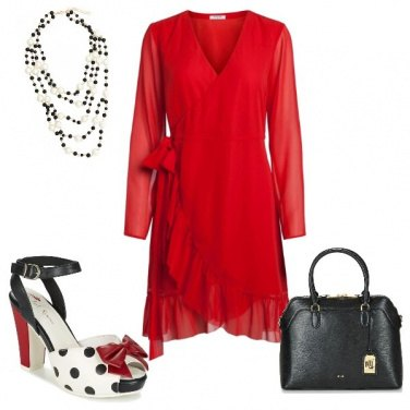 Outfit Scarpe glamour