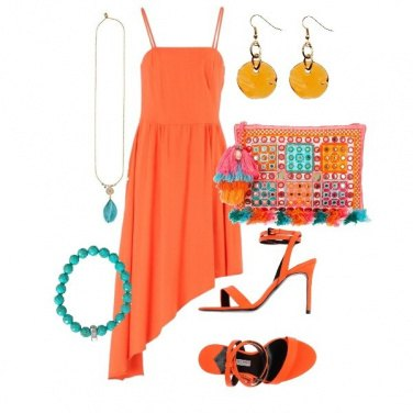 Outfit Orange lovers