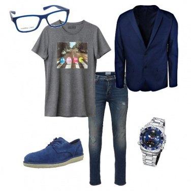 Outfit Nerd con eleganza