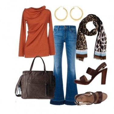 Outfit Un tocco maculato
