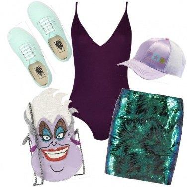 Outfit Sirenetta rivisitata