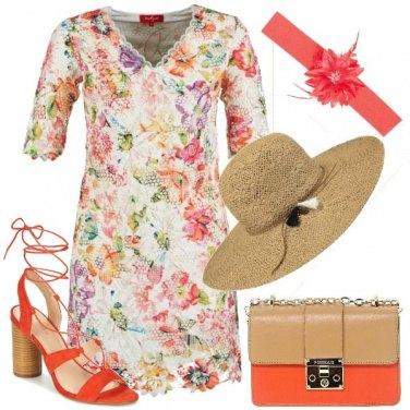 Outfit Floreale e bon ton