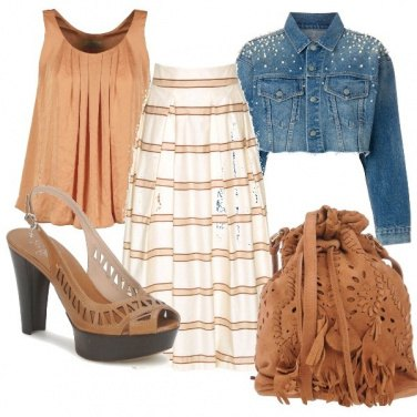 Outfit La Gonna lunga