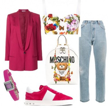 Outfit '90 _ flowers