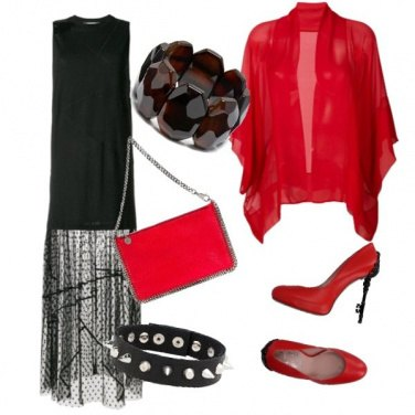 Outfit Black Lady style