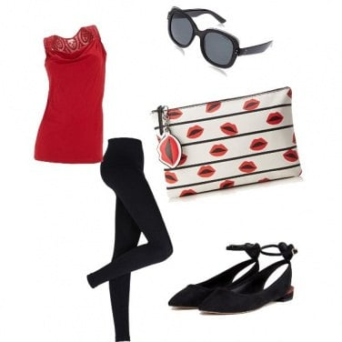 Outfit Baci rossi