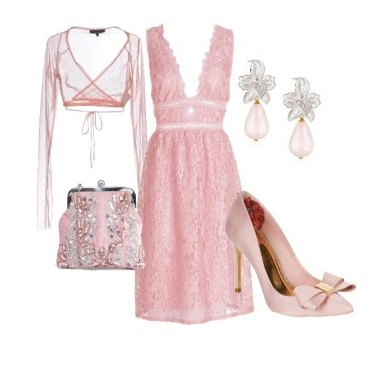 Outfit Enchanting in Pink