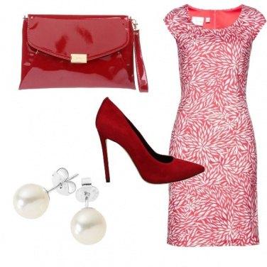 Outfit Oggi di rosso