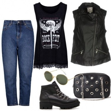 Outfit E' grunge