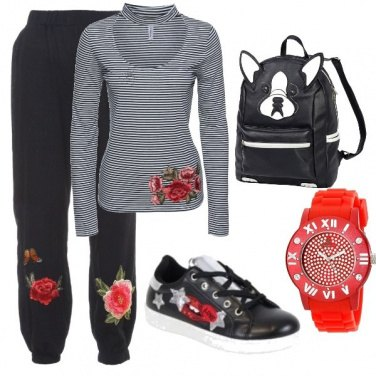 Outfit Comodamente in tuta