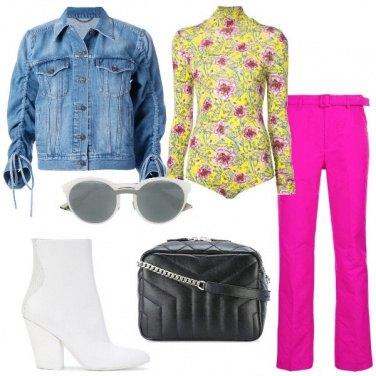 Outfit Il body a fiori