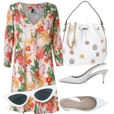Outfit Occhiale bianco
