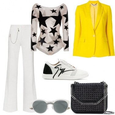 Outfit La giacca gialla