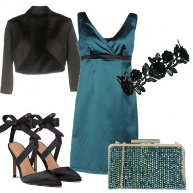 Outfit Romantico Verde