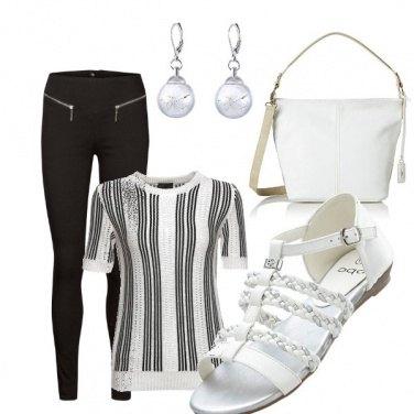 Outfit Sandalo bianco