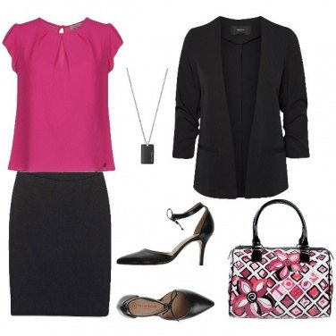 Outfit Borsa floreale