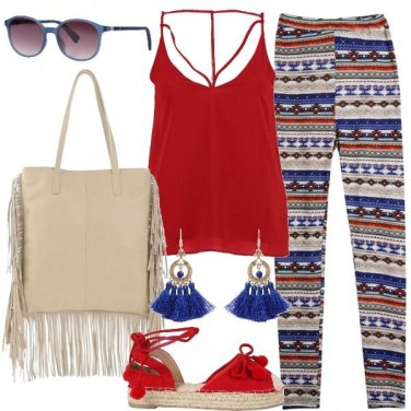 Outfit Richiami etnici