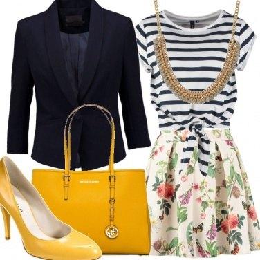 Outfit Blazer Power
