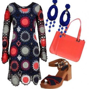 Outfit Abito uncinetto