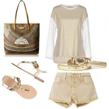 Outfit Oro splendente
