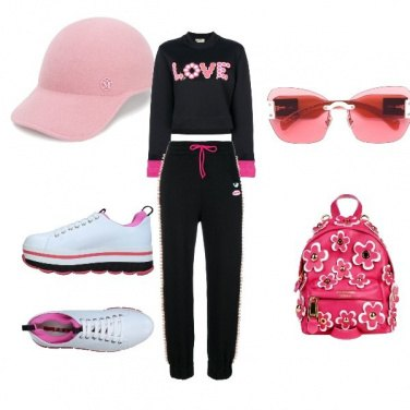 Outfit Sporty pink