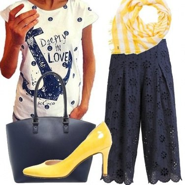 Outfit Navy style