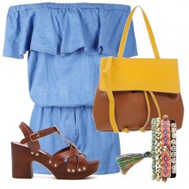 Outfit Sandalo marrone