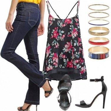 Outfit Come riempi bene quei jeans