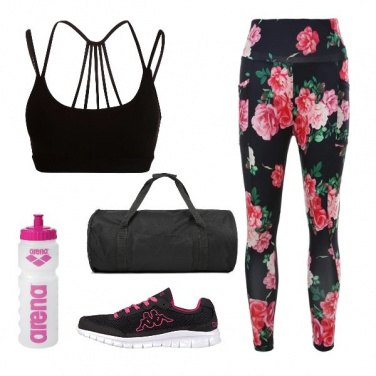 Outfit Sport Rose