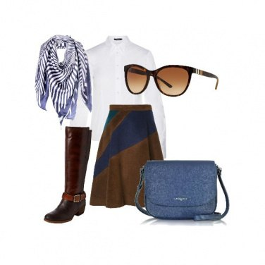 Outfit Preppy style 2