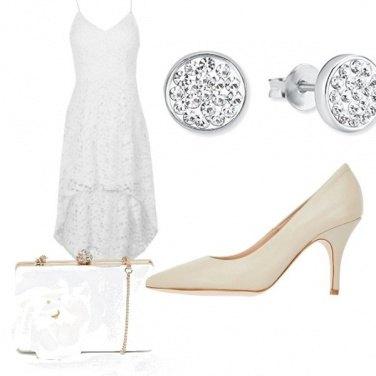 Outfit Cena fuori in bianco