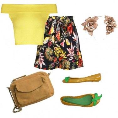 Outfit Un cerchietto di fiori
