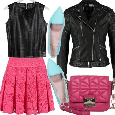 Outfit Leather&Lace