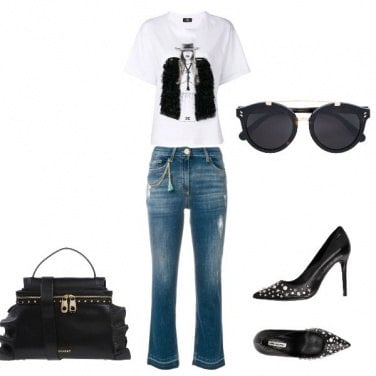 Outfit Pomeriggio glam