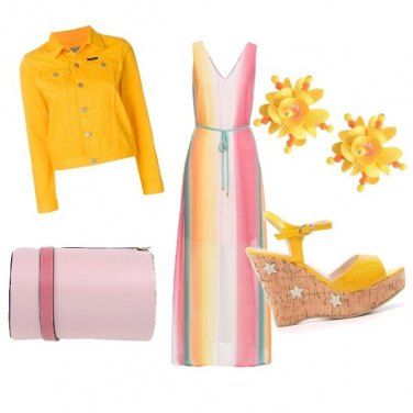 Outfit Giallo estate con tenerezza